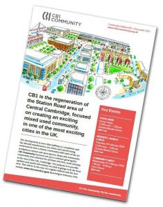Front cover image of CB1 Community Bulletin Dec 2017