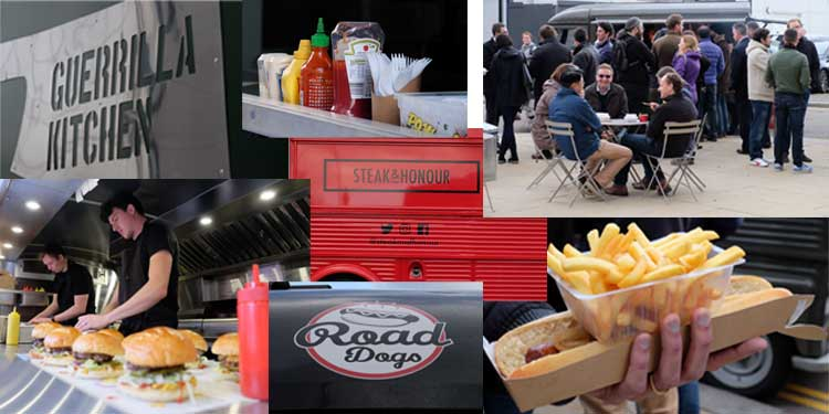 Photo montage of images from Cambridge foodPark