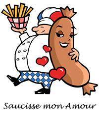 Saucisse mon Amour logo