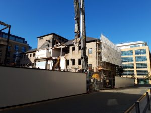 The works will be happening on the 30 Station Road site